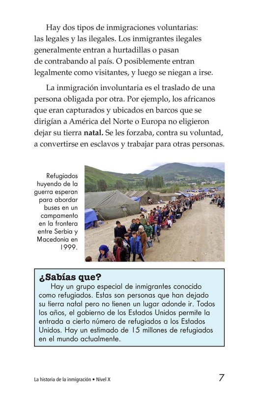 Book Preview For The Story of Immigration Page 7