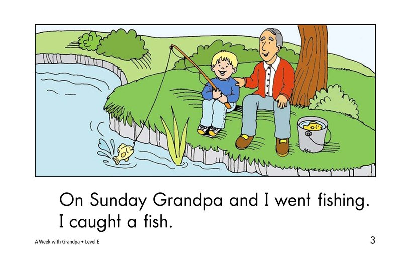 Book Preview For A Week With Grandpa Page 3