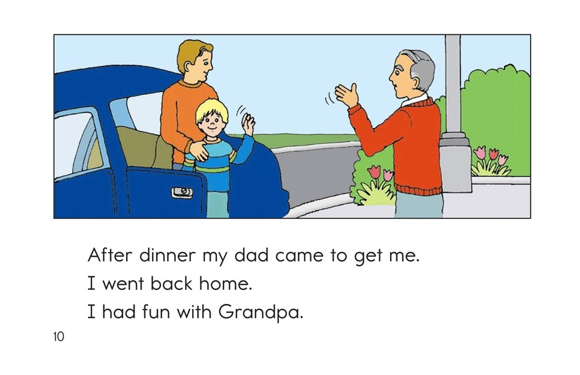 Book Preview For A Week With Grandpa Page 10