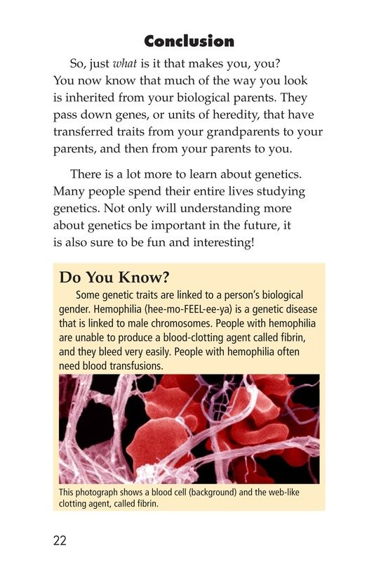 Book Preview For What Makes You, You? Page 22