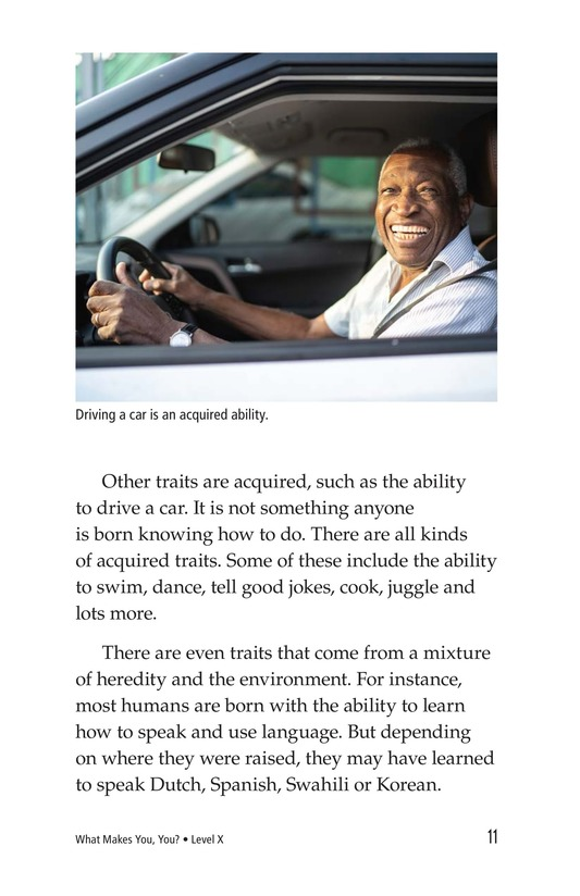 Book Preview For What Makes You, You? Page 11