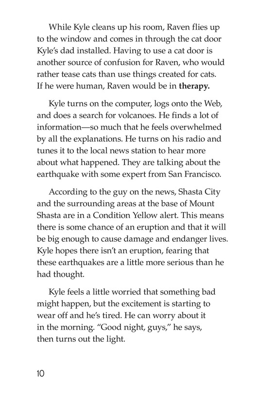 Book Preview For The Eruption of Mount Shasta Page 10