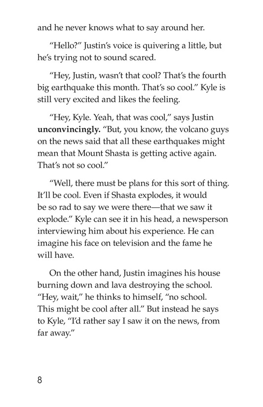 Book Preview For The Eruption of Mount Shasta Page 8