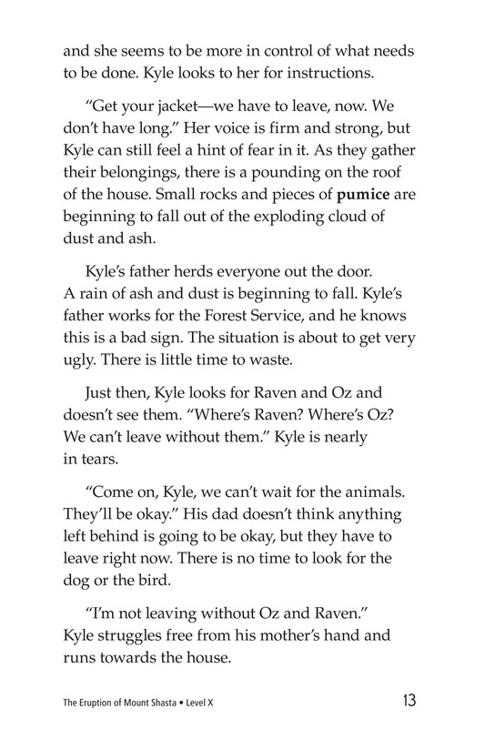Book Preview For The Eruption of Mount Shasta Page 13