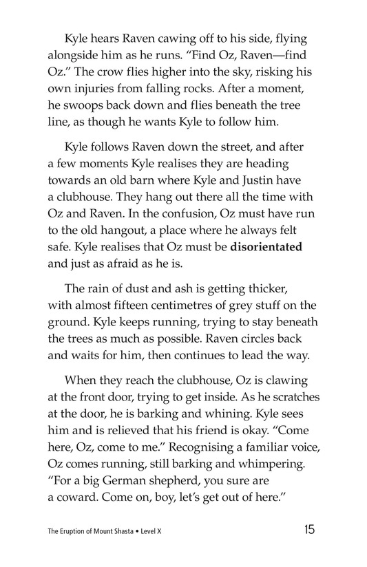 Book Preview For The Eruption of Mount Shasta Page 15