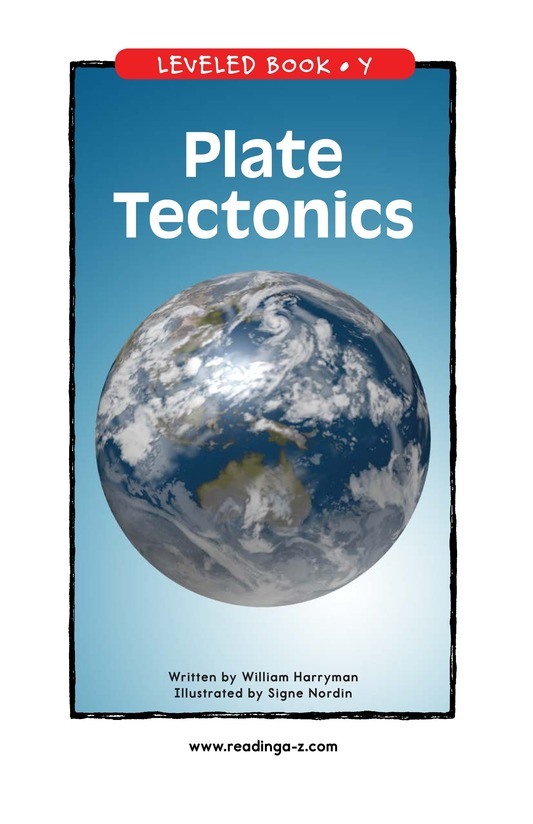 Book Preview For Plate Tectonics Page 1