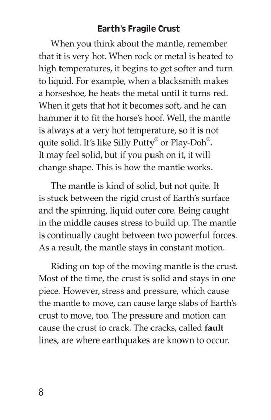 Book Preview For Plate Tectonics Page 8