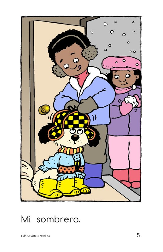 Book Preview For Fido Gets Dressed Page 5