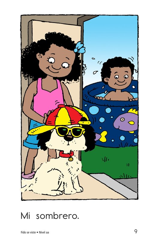 Book Preview For Fido Gets Dressed Page 9