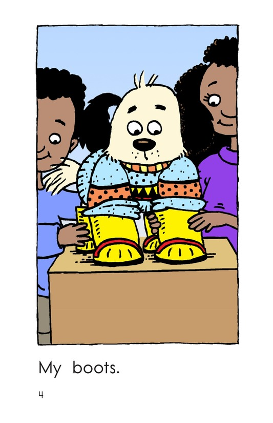 Book Preview For Fido Gets Dressed Page 4
