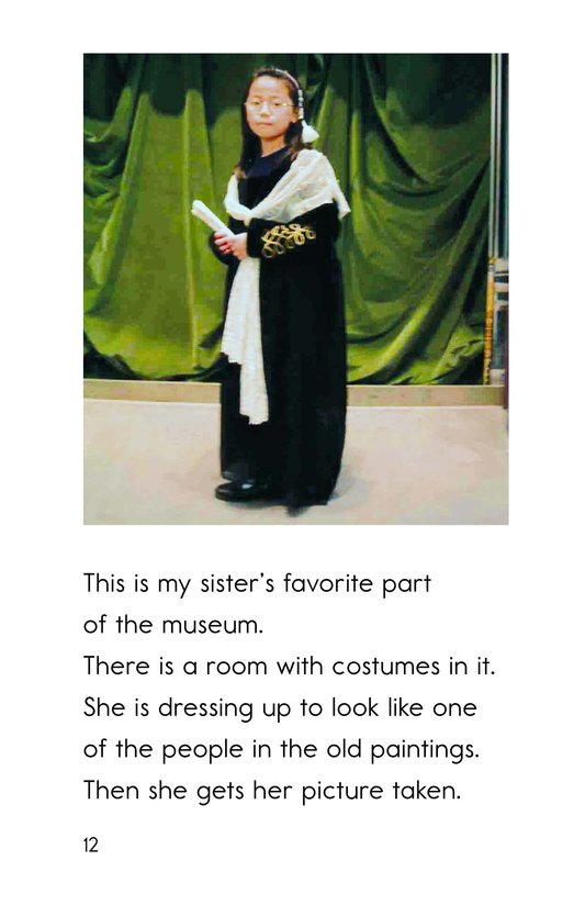 Book Preview For Going to the Art Museum Page 12