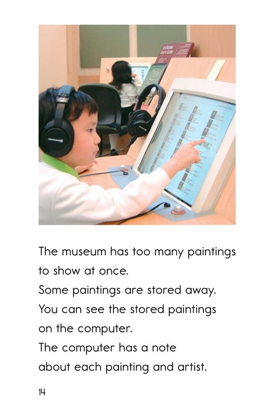 Book Preview For Going to the Art Museum Page 14