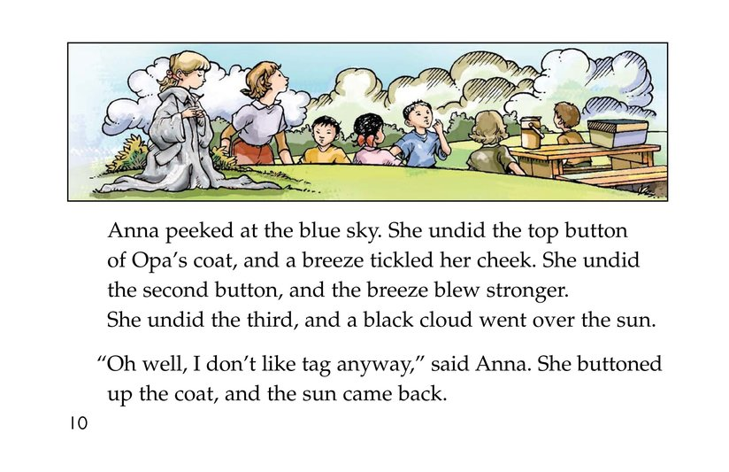 Book Preview For Anna and the Magic Coat Page 10