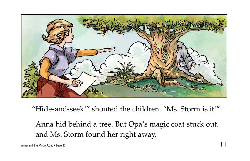 Book Preview For Anna and the Magic Coat Page 11