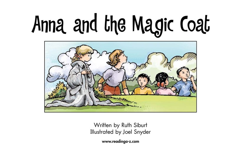 Book Preview For Anna and the Magic Coat Page 2