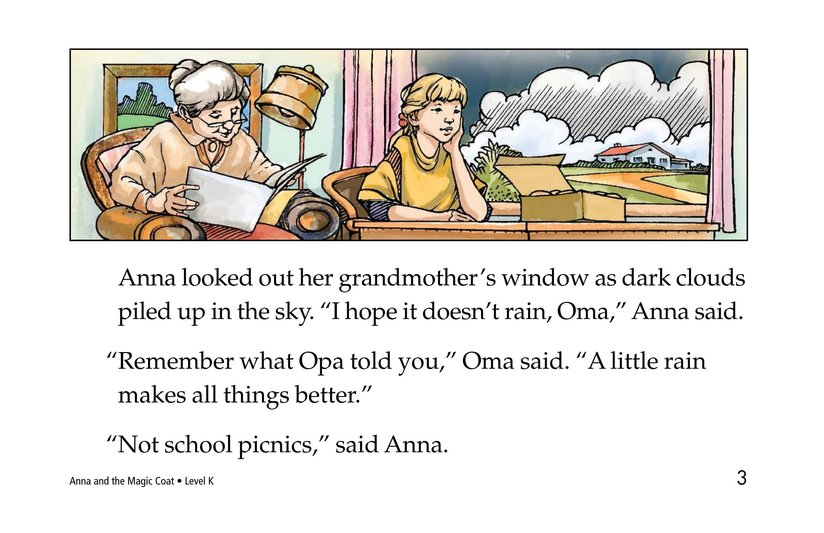 Book Preview For Anna and the Magic Coat Page 3