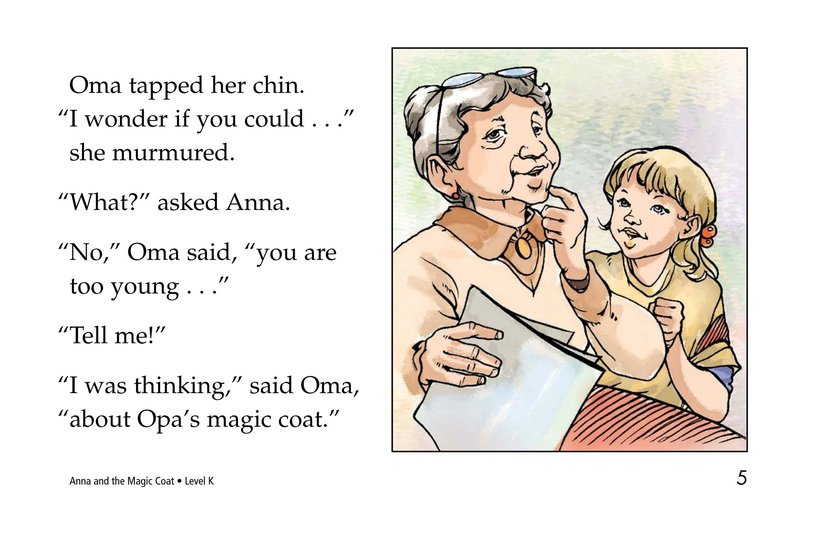 Book Preview For Anna and the Magic Coat Page 5