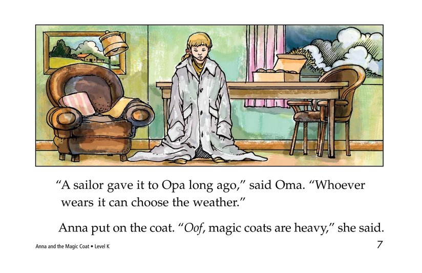 Book Preview For Anna and the Magic Coat Page 7