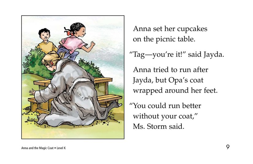 Book Preview For Anna and the Magic Coat Page 9