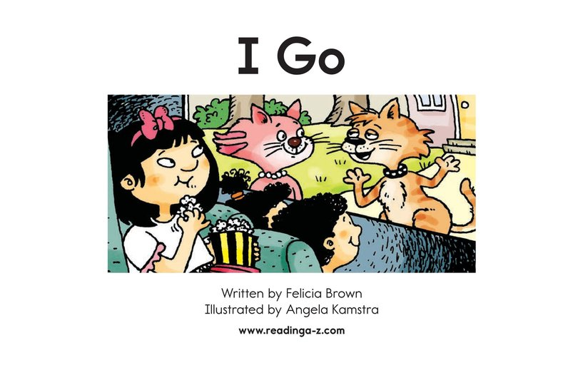 Book Preview For I Go Page 2