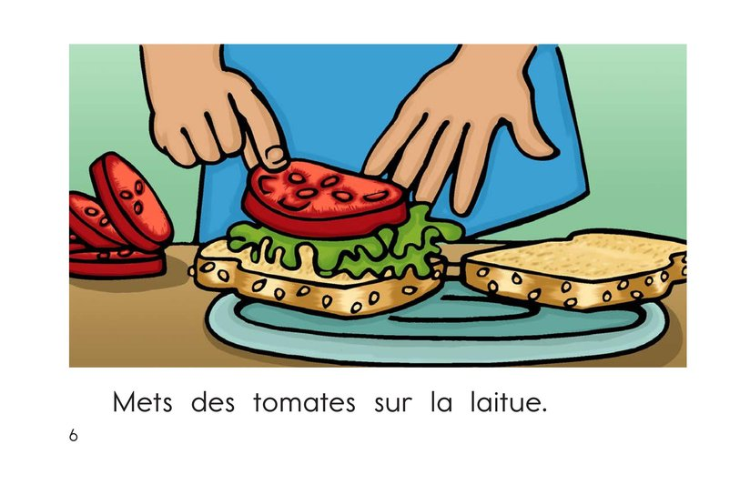 Book Preview For The Sandwich Page 6