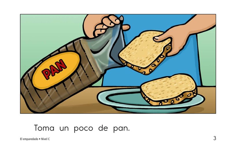 Book Preview For The Sandwich Page 3