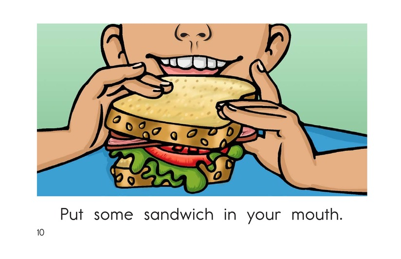 Book Preview For The Sandwich Page 10