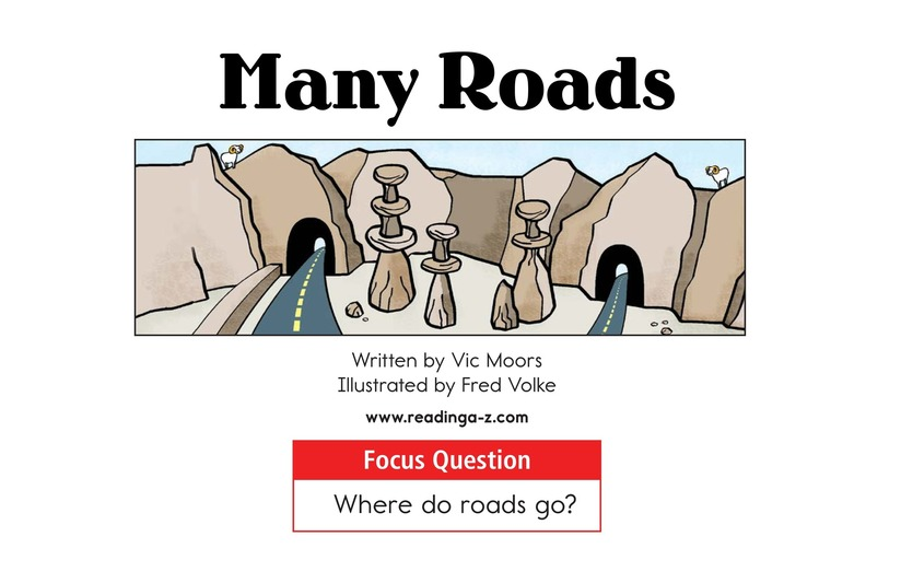 Book Preview For Many Roads Page 1