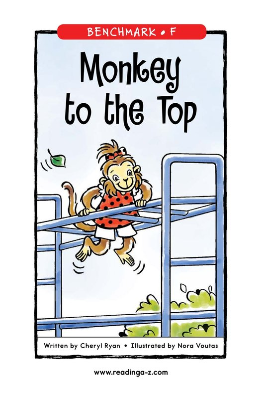 Book Preview For Monkey to the Top Page 1