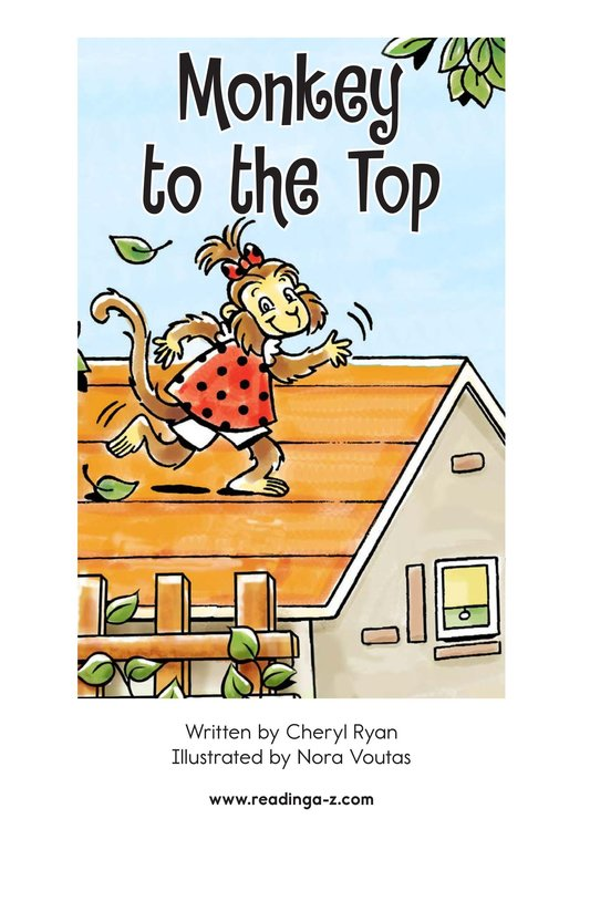 Book Preview For Monkey to the Top Page 2