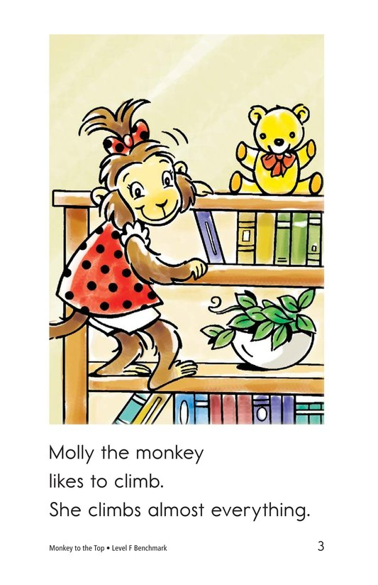 Book Preview For Monkey to the Top Page 3