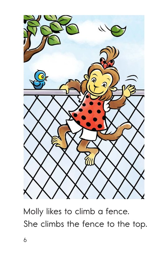 Book Preview For Monkey to the Top Page 6