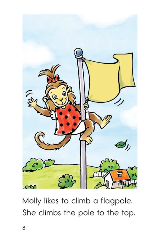 Book Preview For Monkey to the Top Page 8