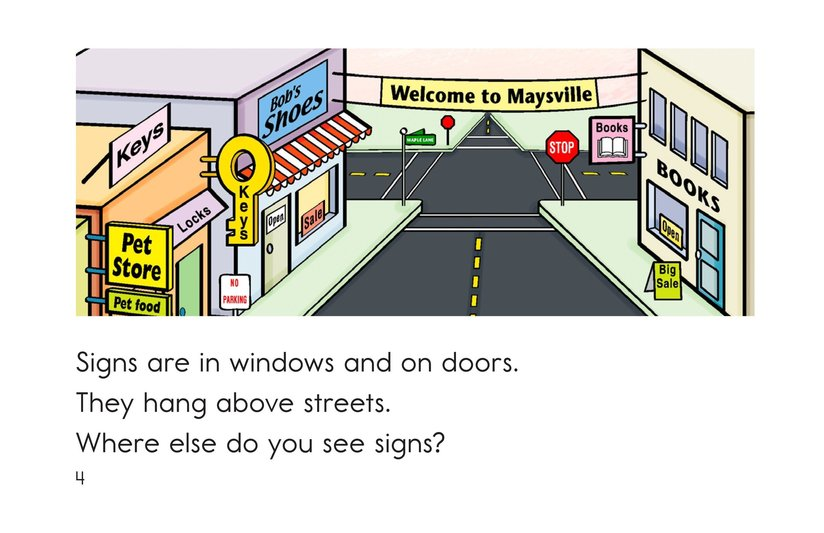 Book Preview For Signs Are Everywhere Page 4