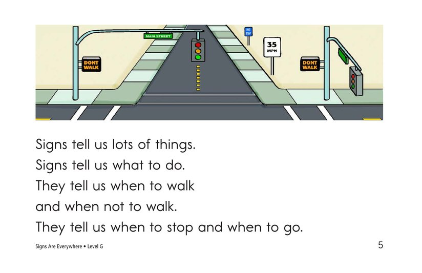 Book Preview For Signs Are Everywhere Page 5