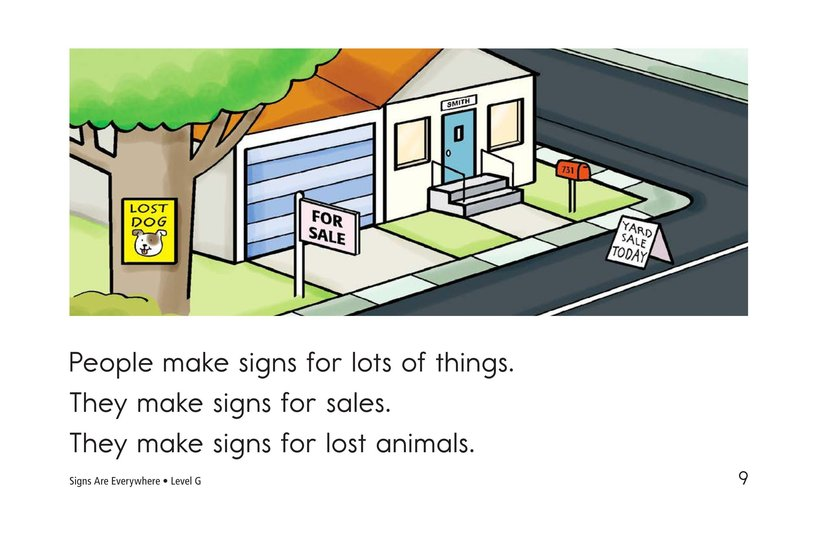 Book Preview For Signs Are Everywhere Page 9
