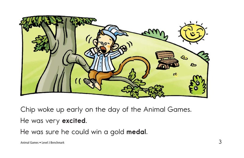 Book Preview For Animal Games Page 3