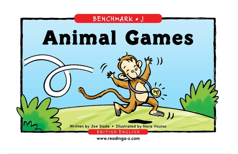 Book Preview For Animal Games Page 1