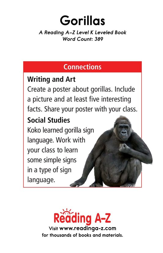Book Preview For Gorillas Page 17