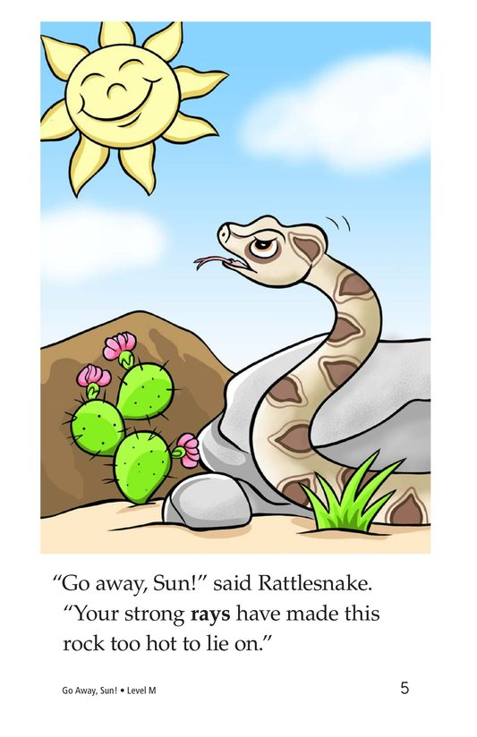 Book Preview For Go Away, Sun! Page 5