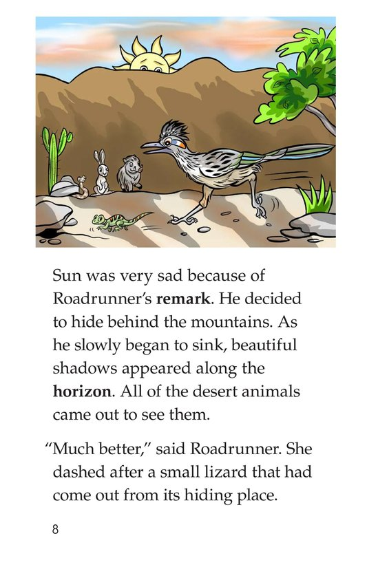 Book Preview For Go Away, Sun! Page 8