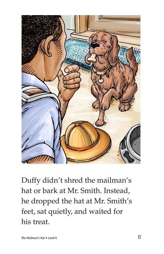 Book Preview For The Mailman's Hat Page 11