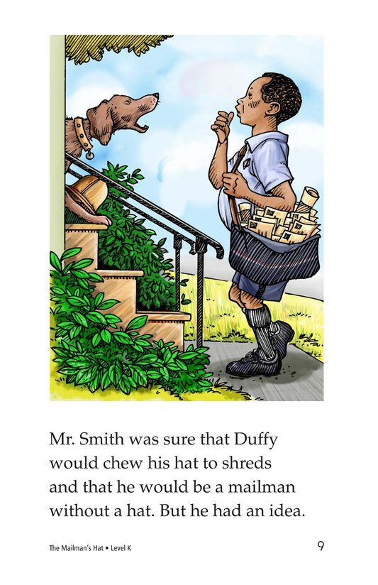 Book Preview For The Mailman's Hat Page 9