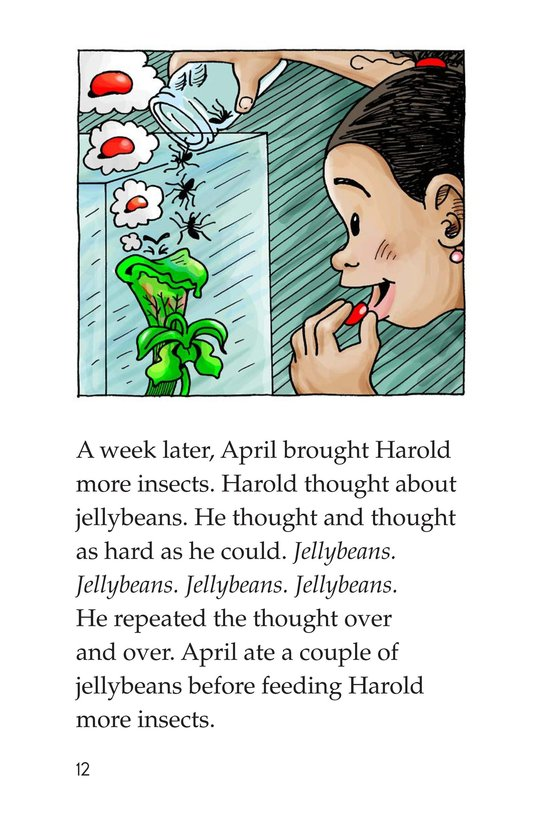 Book Preview For Harold the Hungry Plant Page 12