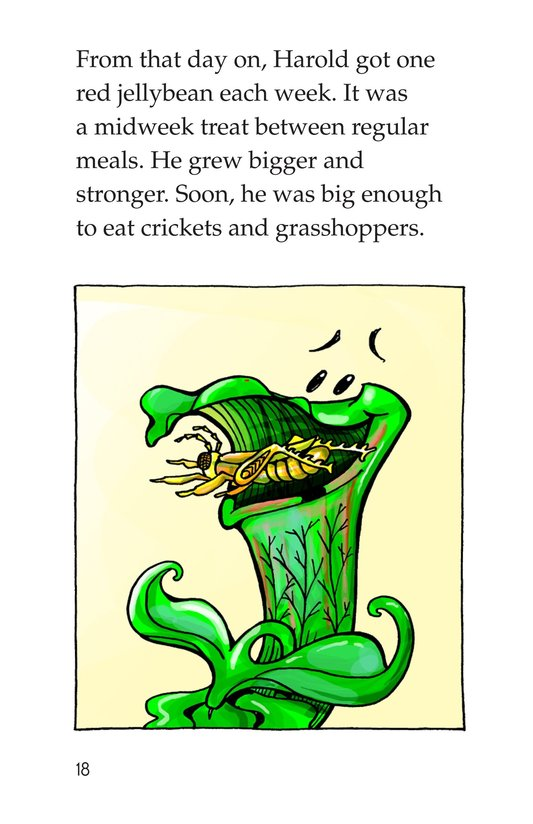 Book Preview For Harold the Hungry Plant Page 18