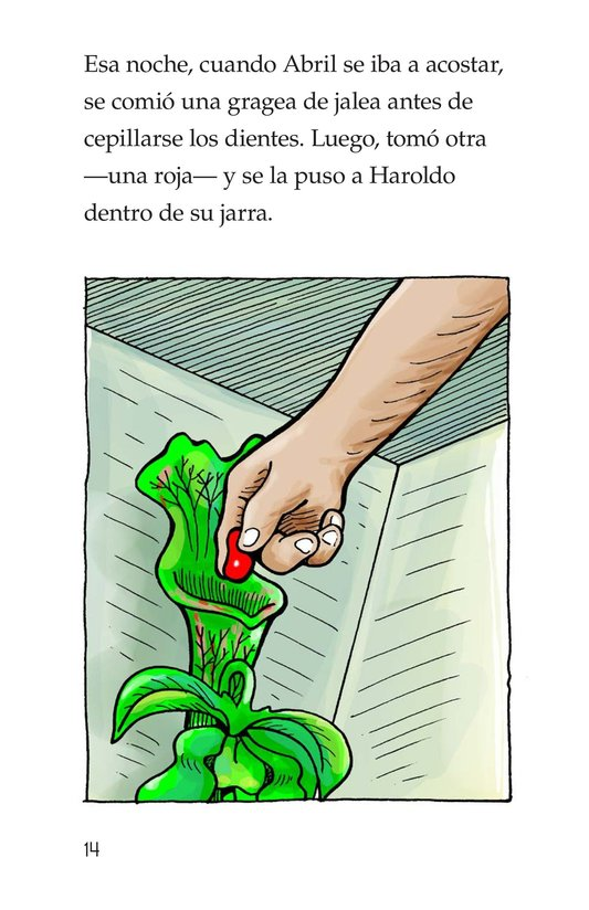 Book Preview For Harold the Hungry Plant Page 14