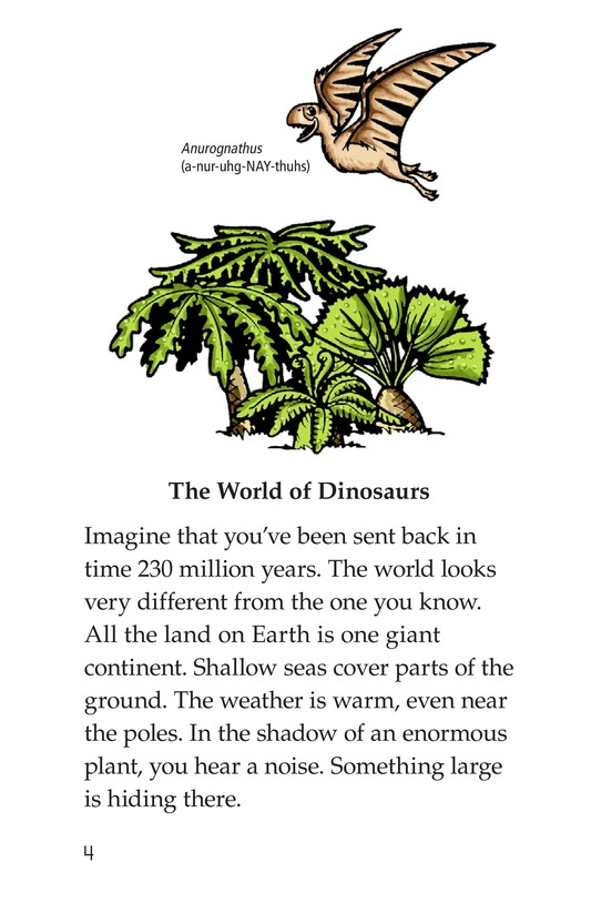 Book Preview For Dinosaurs Page 4