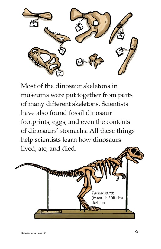 Book Preview For Dinosaurs Page 9