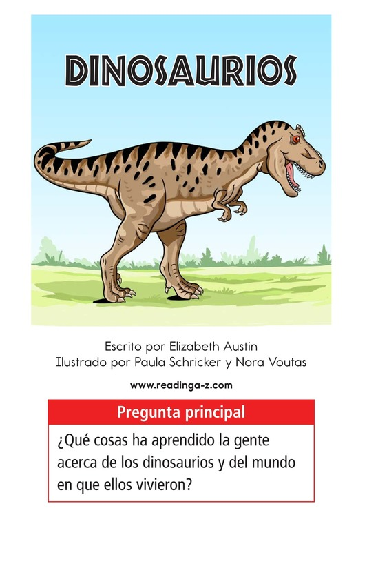 Book Preview For Dinosaurs Page 1