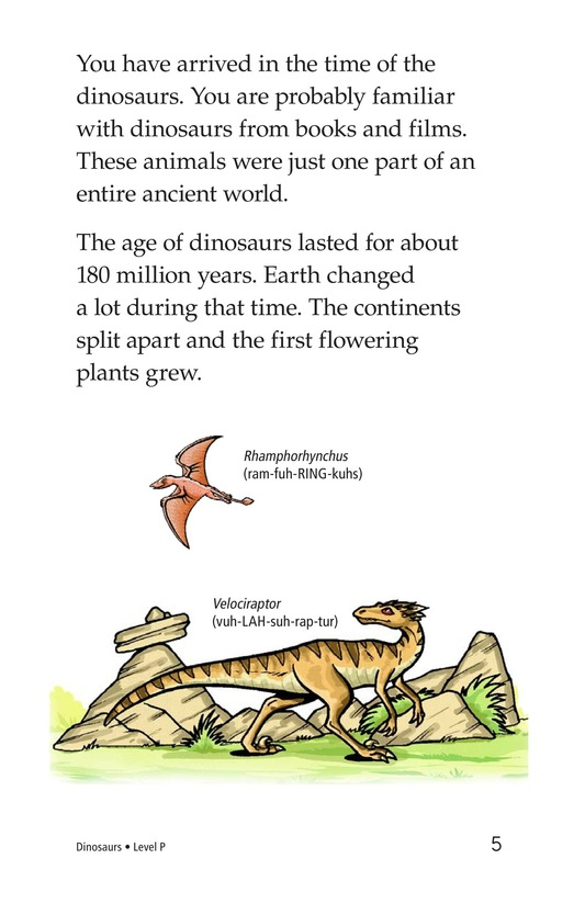 Book Preview For Dinosaurs Page 5